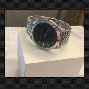 Michael Kors Slim Runway Black Dial  Men's Watch